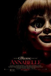Film poster for the movie Annabelle