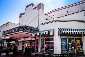 Facade of the Colony Theatre
